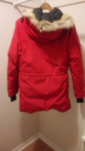 Authentic red Canada Goose Expedition jacket.