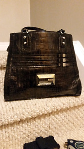 Leather purse, ,,,GUESS like new