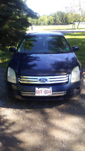 2006 Ford Fusion needs nothing
