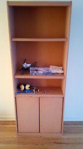 bibliotheque orange bookcase