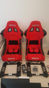 Sparco Seats and Mounts (Frs/Brz/Ft86)