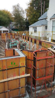 Concrete Forming | Foundation Walls For Custom Homes