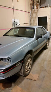 1987 Ford Thunderbird Turbo Coupe Coupe (2 door)