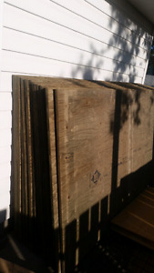 3/4  4 by treated plywood 19 sheets  800.00 or  best