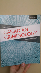 Canadian Criminology 3rd Edition