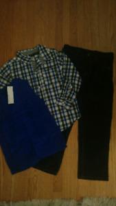 Boys Size 5 Calvin Klein Set