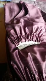 Purple curtains + curtain rails with hooks. 🏡 ✳️ ✳️ ✳️ ✳️ ✳️ ✳️⭐✨✨✨✨⭐