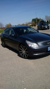 2008 INFINITI G35X, LOADED ULTRA PREMIMUM PACKAGE - All Included