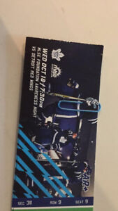 MAPLE LEAFS vs RED WINGS Oct 18