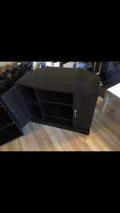 Tv stand with shelves and cupboards ~ Athabasca ~