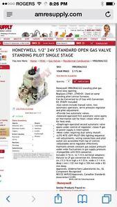 Honeywell  gas pilot light.. Best offer'mm Belleville Belleville Area image 1
