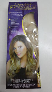 16' Headband Instant Hair Extention Blonde