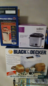 Assorted Kitchen Appliances In Box