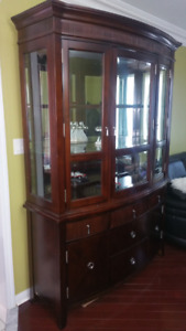 Mint Condition Hutch and Buffet - Separable Units