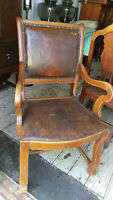 Antique Captain Accent Chair