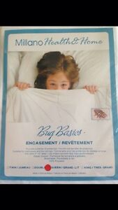 Brand New Milano Health and Home Bed Bug Encasement Queen