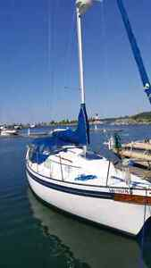 76 baylfield 25 ft.in very good condition ready to sail!