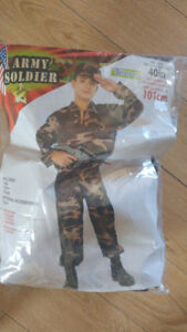 Youth Army Halloween costume