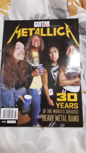 Guitar World Like New Near Mint Metallica Collectible Magazine