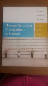 Human Resources Management in Canada (12th edition)