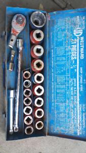 3/4 inch drive socket sets
