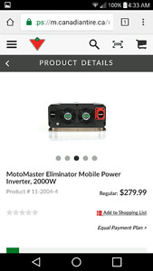 2000 Watt power inverter for sale