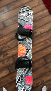 Snowboard without bindings!!