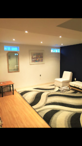 One Bedroom Basement Apartment Available Oct 01, 2017