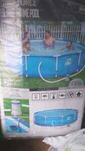 "10'x30"" STEEL FRAME POOL/ACCESSORIES"