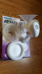 Breast pump manual single