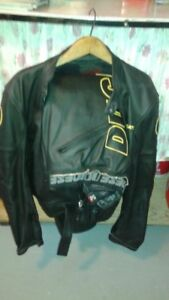 Ducati Leather Jacket & Pants, with boots and bike leather bag