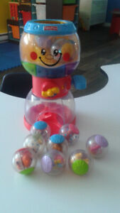 FISHER PRICE-DISTRIBUTEUR DE BOULES SURPRISES