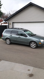 2006 FORD FOCUS WAGON INSPECTION MAY 21 /19 LOW KM AUTOMATIC