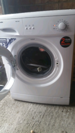 Washing machine / can deliver