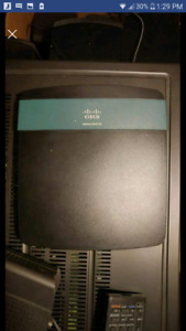 OBO. Thomson DCM 476 modem and router