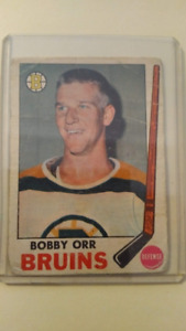 1969/70 Bobby Orr - TOPPS hockey card - very good condition