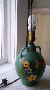 Antique Ceramic Jug Lamp