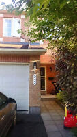 Fully Furnished 3 Bedroom Townhouse in Kanata South-Avail Mar. 1