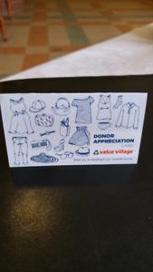 Value Village Discount Card
