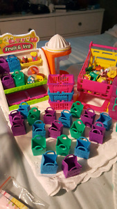 Large collection of Shopkins