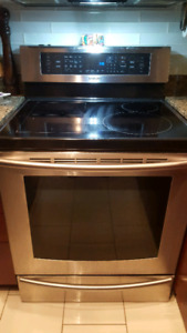 Samsung induction stainless steel range
