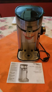 "Hamilton Beach ""The Scoop"" single cup coffee maker"