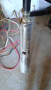 Pompe à eau submersible