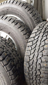265/70R17 Winter Tires w/Rims for Light Trucks (F-150)