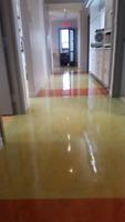 Décapage Cirage de Plancher  - Strip & Wax Floors - Commerical