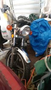 1983 Suzuki GS450L Project Bike