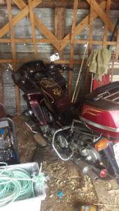 Yamaha Venture Royale and trailer low kms!
