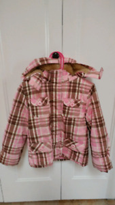 girls size 5 coats and snow pants, $5 each