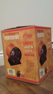 Chaufferette Industrielle, 220V--- Industrial Space heater, 220V