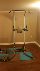 Power tower workout tower
